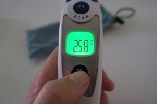 thermomètre Etekcity mesure
