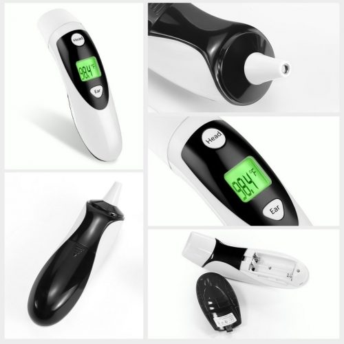 thermomètre Semature en action