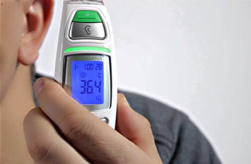 thermometre medisana TM 750 prise de temperature