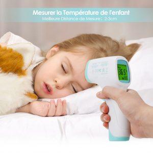 thermomètre intey temperature bebe
