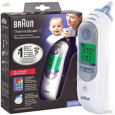braun thermoscan 7 emballage