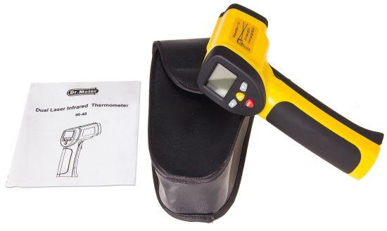 thermometre dr meter ir 40 contenu