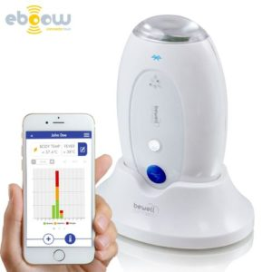 Thermomètre connecté Bewell MyThermo application android ios bluetooth