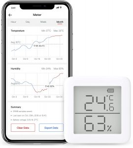 thermometre hygrometre switchbot haut de gamme